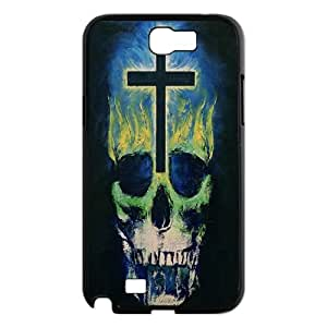 Custom Cross Cell Phone Case, Custom Durable Cover Case for Samsung Galaxy Note 2 N7100 Cross