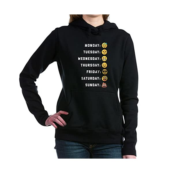 65b190bde02 CafePress Emoji Days of The Week Sweatshirt - Emoticon