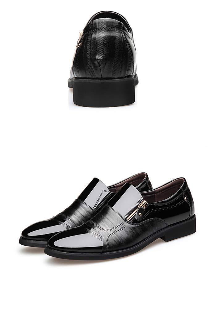 ZHRUI Mens Business Casual Slip auf Schuhe Schuhe Schuhe Formale Büro täglich langlebig Rutschfeste Schuhe (Farbe   Schwarz, Größe   EU 41) ffd8b0