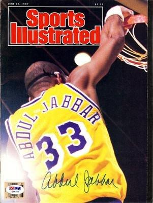Kareem Abdul-Jabbar Autographed Signed Magazine Lakers  Q19322 - PSA DNA  Certified - 8aaebef90
