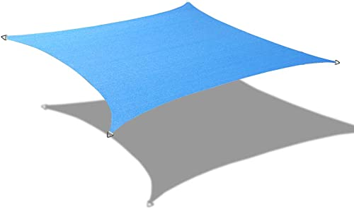 Alion Home 9.5 x 15 Rectangle PU Waterproof Woven Sun Shade Sail 2