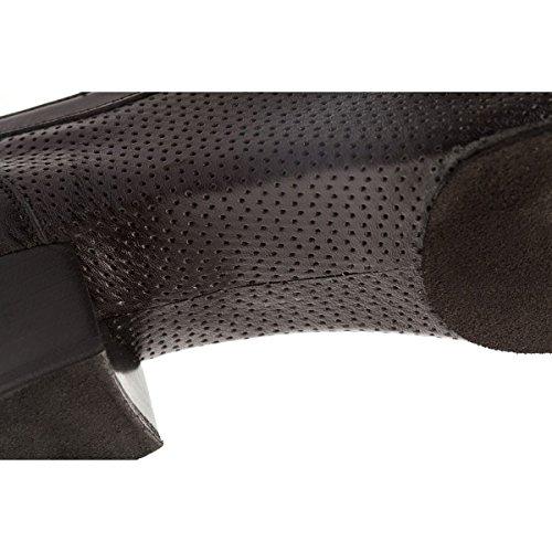 Schwarz Blockabsatz 3 1225 6 Damen Leder Supadance Cm Trainerschuhe Normalweite 1PIaxwq