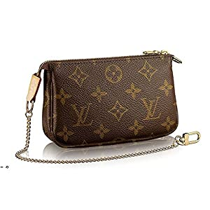 1. Louis Vuitton Monogram Canvas Mini Pochette Accessories