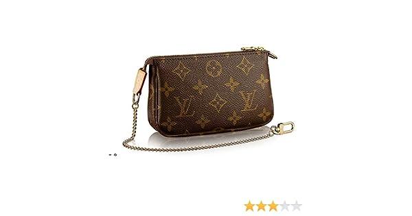 8713368efd70 Amazon.com  Louis Vuitton Monogram Canvas Mini Pochette Accessoires M58009   Clothing