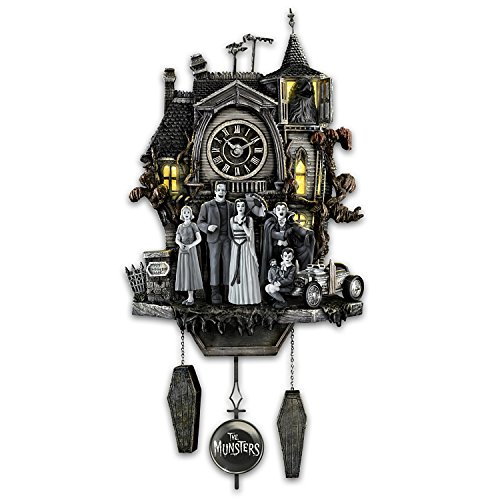 The Munsters Cuckoo Clock with Flickering Lights and Music by The Bradford (This Is Halloween Song Tabs)