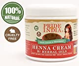 Pride Of India - Red Henna Hair Color Cream w/ Herbal Oils (Ready to use), One Pound (16oz) Jar - 100% Natural (No Chemicals/Dyes) REGULAR PRICE: $19.99, SALE PRICE: $14.99