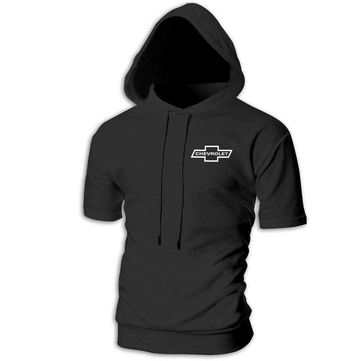 Kinggo Design Mans Hooded Chevrolet Logo Classic Sweatshirts