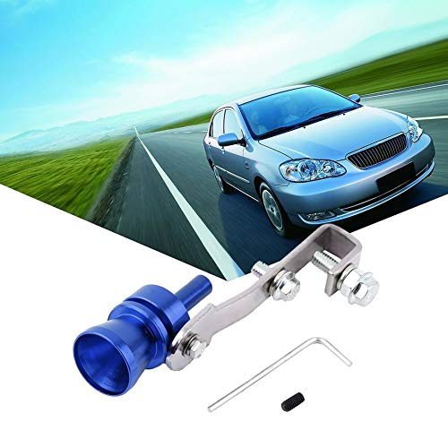 Universal Aluminum Cars Auto BOV Turbo Sound Whistle Tube Sound Simulator Tube Exhaust Muffler Pipe Tube: Amazon.es: Electrónica