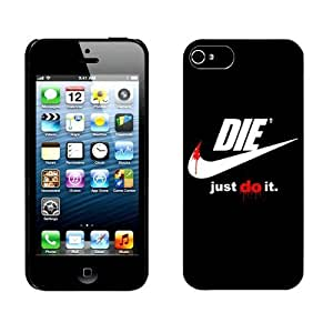 Unigue Design Iphone 5c cover Fashion Just Do It Iphone 5c Case- Cell Phone Hard Case Cover wm012 hjbrhga1544