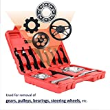 Bearing Puller | 5-Ton-Capacity Bearing Separator | Wheel Hub Axle Puller | Pinion Bearing Removal Tool Kit | Bearing Splitter Orion Motor Tech