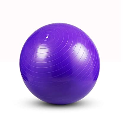 Amazon.com : HOUER PVC Yoga Ball Thickening Gym Ball Balance ...