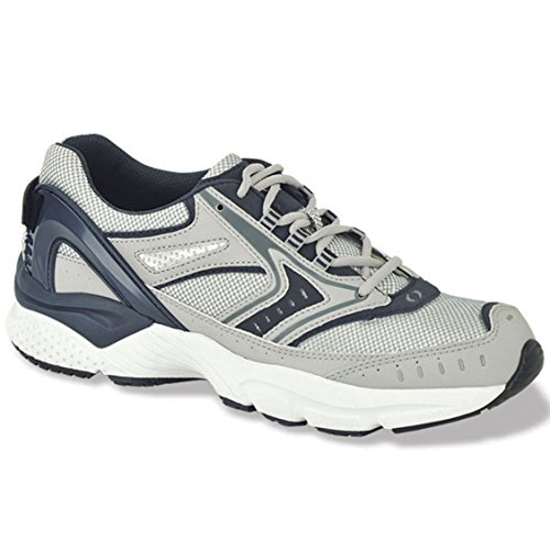 Apex Men's X532M Rhino Runner,Silver,7.5 M US