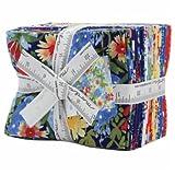 Bluebonnet Patch Fat Quarter Bundle 20 Precut Cotton Fabric Assortment by Moda Fabrics, 33310AB