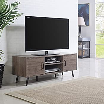 Amazon Com Mid Century Modern Tv Stand Ash Kitchen