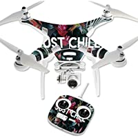 Skin For DJI Phantom 3 Standard – Just Chill | MightySkins Protective, Durable, and Unique Vinyl Decal wrap cover | Easy To Apply, Remove, and Change Styles | Made in the USA