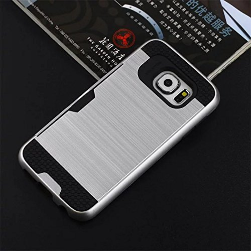 Slim Fit Hybrid Shockproof Case for Samsung Galaxy A9 (Silver) - 2