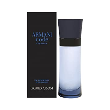 Armanî Codé COLONIA Eau de Toilette spray 2.5oz for Men