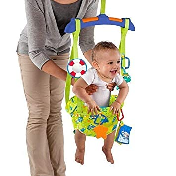7864b0af0ccb Baby Jumper Door Bouncer Einstein Sea   Discover Door 4 Months + Fun ...