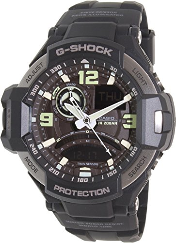 Casio GA 1000 1B G Shock Analog Digital