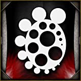 Circle Freehander AirSick Airbrush Stencil Template