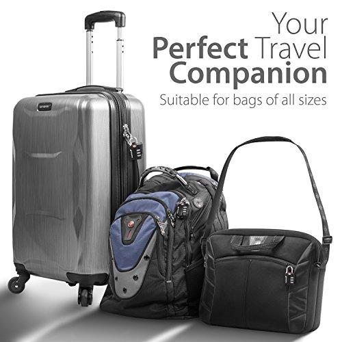 candado maleta, Fosmon candado tsa 3 dígitos candado combinacion ...