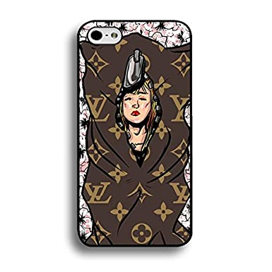 c20916ae4a33 Funny Lady Wrapped Style Louis Top Vuitton Phone Case Pop Snap-On Cover For Iphone  6   6s ( 4.7 Inch )  Amazon.co.uk  Electronics
