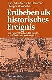 Erdbeben Als Historisches Ereignis : Die Rekonstruktion des Bebens Von 1590 in Niederösterreich, Gutdeutsch, Rolf and Hammerl, Christa, 3540180486