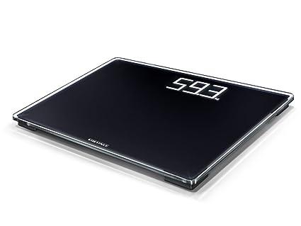Soehnle Style Sense Comfort 500 - Bascula de bano, color negro