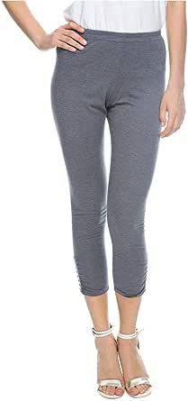 Sana'a Kayum Grey Skinny Leggings Pant For Girls