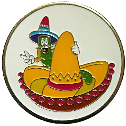 Amazon.com   Sombrero and Friend Golf Ball Marker with Matching Hat ... 9aa24e34a23