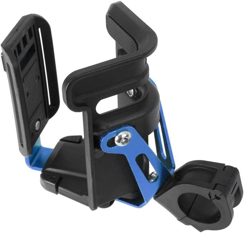 Lorababer Universal Guidon Drink Water Cup Holder Kettle Rack Bouchon de d/émontage Rapide pour Les Motos V/éhicule /électrique Voiture Porte-Bouteille de Moto Bleu