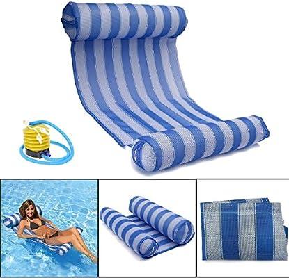 Amazon.com: OUTERDO Water Hammock Pool Lounger Float Hammock ...
