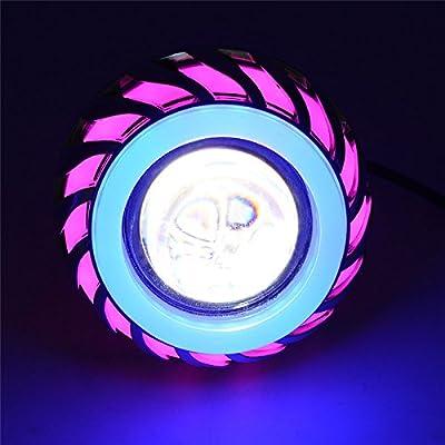 Andux Land Angel Devil Eyes Motorcycle / Car Hi/Low Beam LED Projector CREE Headlight EMY-03