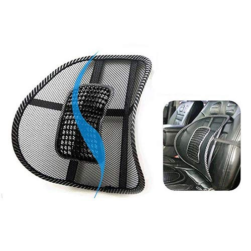 Lumbar Back Massage Mesh Brace Support Office Home Car Seat Chair Back Cushion qsbai by qsbai (Image #5)