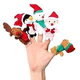 Finger Puppets Finger Toys, Danibos 5pcs Finger Puppet Set for Children, Baby, Toddlers, Kids Story Time, Shows, Playtime, Schools(finger toy)