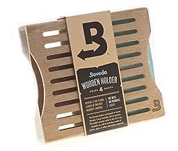 Boveda Official Wood 4-packet Holder