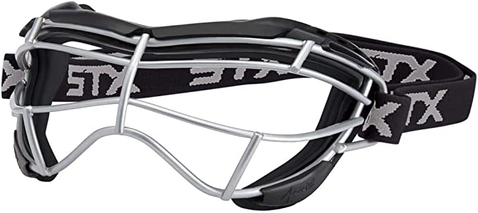 STX Focus S Women's Lacrosse Goggles - Most Comfortable & Sturdy Goggles
