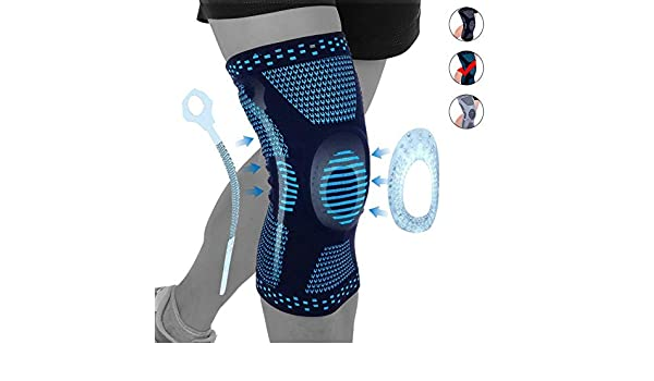 Rodilleras médicas Rodillera rodilla de la manga de compresión, la ...