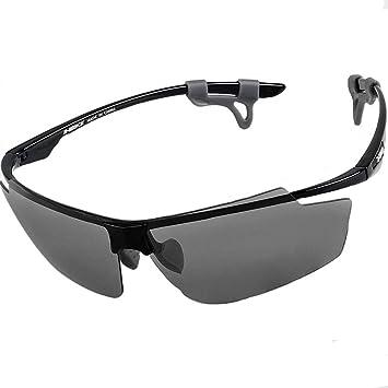 Gafas De Ciclismo Uv400 Anti-Reflejo Luz Polarizada Prevención De Arena A Prueba De Viento