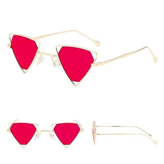 Gafas de Sol Moda Hombre Mujer Marco Irregular Gafas Estilo ...