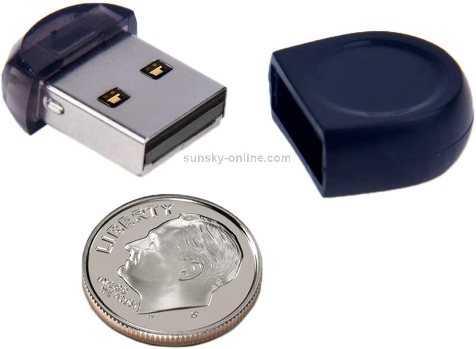 16GB Mini USB Flash Drive for PC and Laptop Black