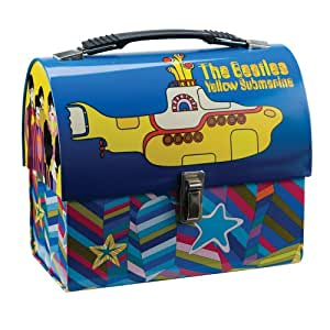 Vandor 64276 The Beatles Yellow Submarine Dome Tin Tote, Multicolored