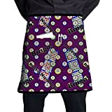 ERTOUGN22 Bingo I Need One More Number Kitchen Half Waist Apron Work Money Holder Apron with One Large Pocket