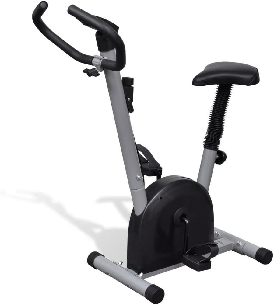 Tidyard Bicicleta Estática de Ejercicio con Sillin y Pantalla LCD ...