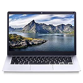 2020 14.1 inch Notebook Computer, IPS Display, Intel 64-bit Quad-core Atom x5 E8000 Processor, 4GB RAM, 64GB eMMC ROM, scalable 1TB HDD Solid State Drive, 10000mAh high Battery Life, Windows 10 Home