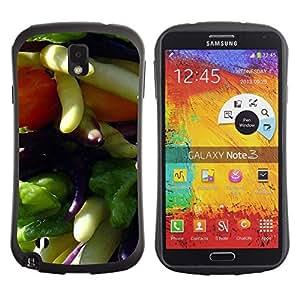 "Hypernova Slim Fit Dual Barniz Protector Caso Case Funda Para Samsung Note 3 [Planta Naturaleza Forrest Flor 36""]"