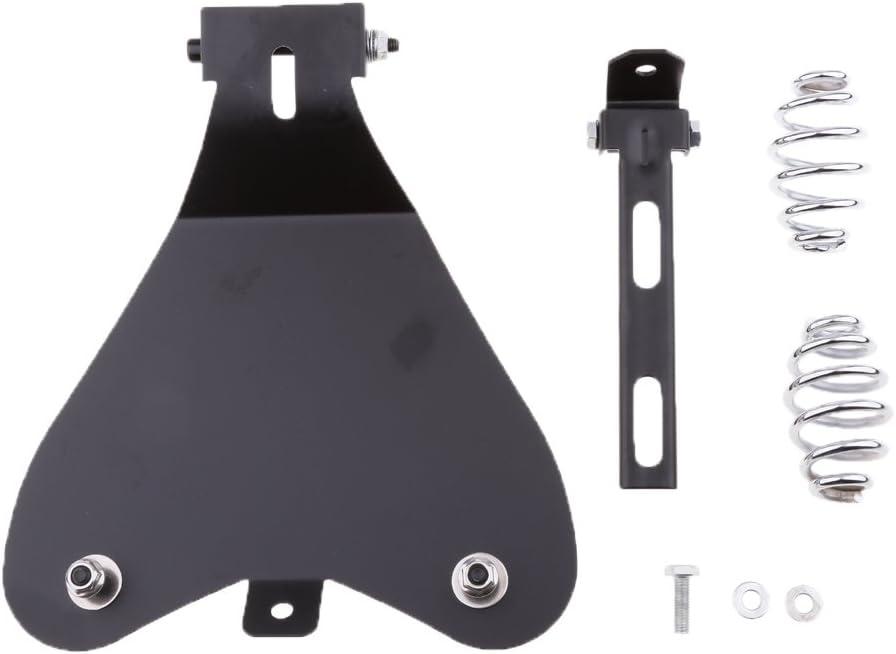 1 St/ück Motorrad Solo Sitz Grundplatte Halterung F/ür Motorrad Fahrer Montage-Hardware Halterung