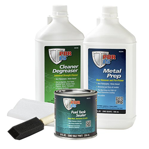 POR-15 49229 Cycle Tank Repair Kit (Best Fuel Cleaner For Motorcycles)