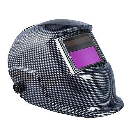 Casco de soldadura solar - SODIAL(R) Casco de soldadura Mascara de Tig Mig de arco solar: Amazon.es: Bricolaje y herramientas