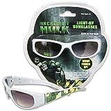 Incredible Hulk White Frame Light-Up Sunglasses For Kids